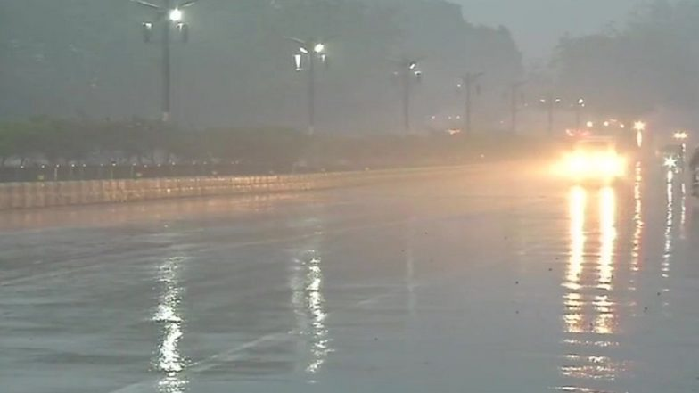 Delhi Winters: Rain Lashes Parts of National Capital; 10 Trains Delayed