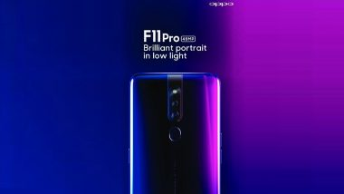 Oppo F11 Pro Smartphone With Pop-up Selfie Camera To Be Launched in India on March 5; Price, Features & Specifications