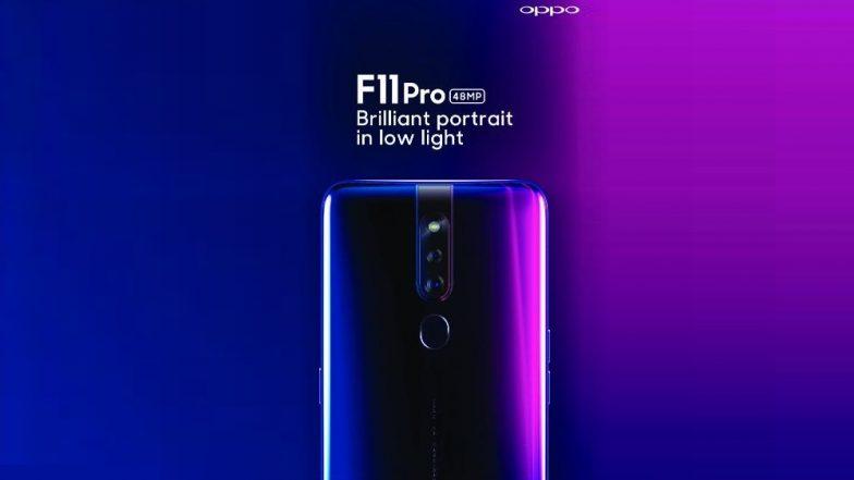 Oppo F11 Pro Alleged Leaked Teaser Reveals Design, Pop-Up Selfie Camera