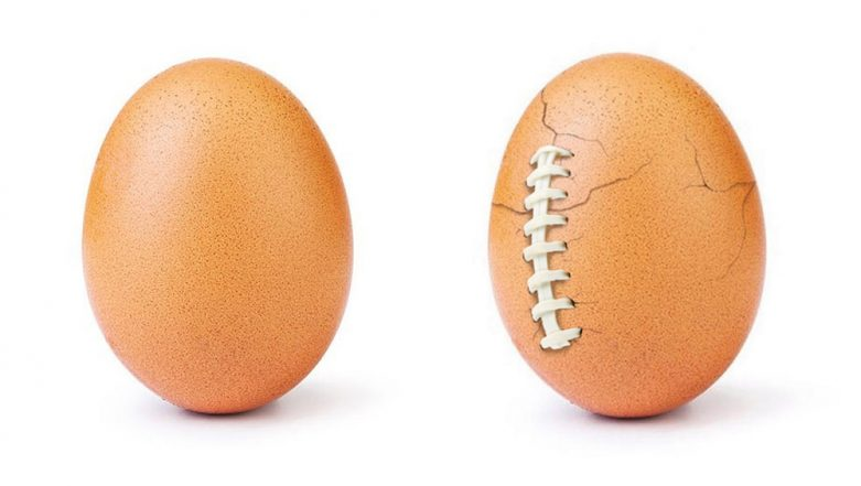 Instagram's Viral Egg's Big Reveal for SUPER BOWL LIII! Was It All for Hulu's Super Bowl Sunday Commercial?