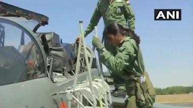 Aero India 2019: PV Sindhu Flies Light Combat Aircraft Tejas, As Bengaluru Show Observes Women's Day