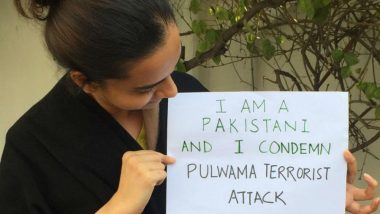 Pakistanis Start #AntiHateChallenge, Post Pictures on Facebook Condemning Pulwama Terror Attack