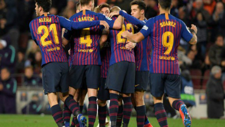 Barcelona vs Rayo Vallecano Live Streaming Online: How to Get Spanish La Liga 2018–19 Match Live Telecast on TV & Free Football Score Updates in Indian Time?