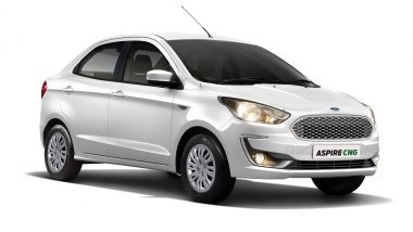 New Ford Aspire CNG Variants Launched in India at 6.27 Lakh; Prices, Variants & Specifications
