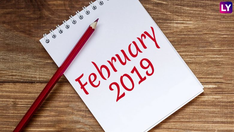 February 2019 Festivals, Events and Holiday Calendar: Valentine's Day to Vasant Panchami, Know All Important Dates and List of Hindu Fasts for the Month