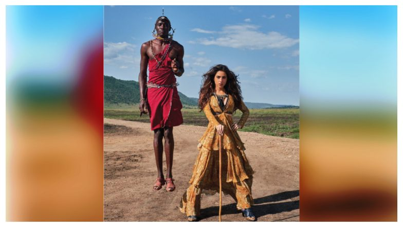 Sara Ali Khan's Filmfare Photoshoot Now Gets Called Out for Racism After the Shadow-Less Man Mystery Took Over Twitter – Read Tweets
