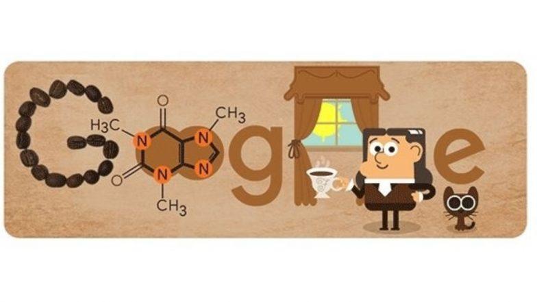 Friedlieb Ferdinand Runge's 225th Birth Anniversary: Google Celebrates German Analytical Chemist's Birthday With Formula of Caffeine as Doodle