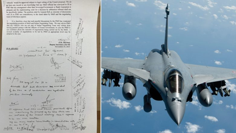 Rafale Deal: Full Text of 'Dissent' Note by Defence Ministry With Manohar Parrikar's Reply