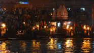 Kartik Purnima 2020 in Haridwar: Locals Allowed to Take Holy Dip in Ganga, Outsiders Barred Due to COVID-19