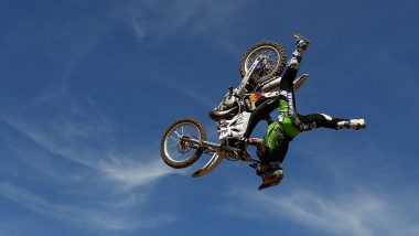 Six Motocross Riders, Including Robbie Maddison, Enthral Mumbaikars With Stunts at Red Bull FMX Jam