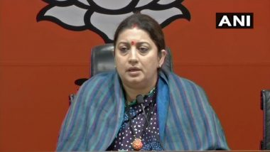 Lok Sabha Elections 2019: In Poll Affidavit, Smriti Irani Says She Did Not Complete Graduation From Delhi University
