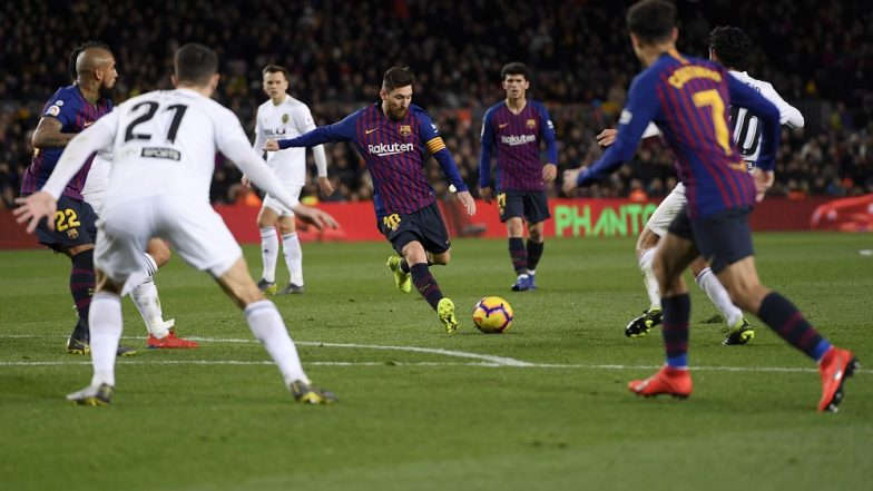 Valencia vs Barcelona, La Liga 2019-20 Free Live Streaming Online & Match Time in IST: How to Get Live Telecast on TV & Football Score Updates in India?