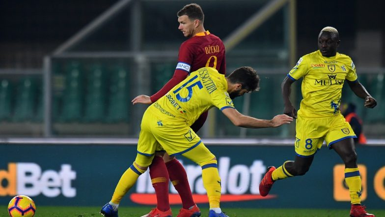 AS Roma Beats Chievo Verona Ahead of Champions League Match Against Porto