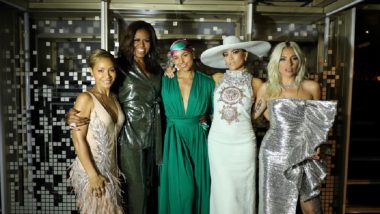 Grammy Awards 2019: Michelle Obama Hits the Stage, Joins Lady Gaga, Jada Pinkett Smith and Jennifer Lopez