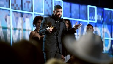 Grammy Awards 2019: Drake Cut Off During Acceptance Speech After Winning Trophy for Best Rap Song for 'God's Plan'