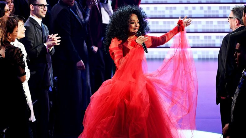 Grammy Awards 2019: Diana Ross Gives 'Supreme' Birthday Performance