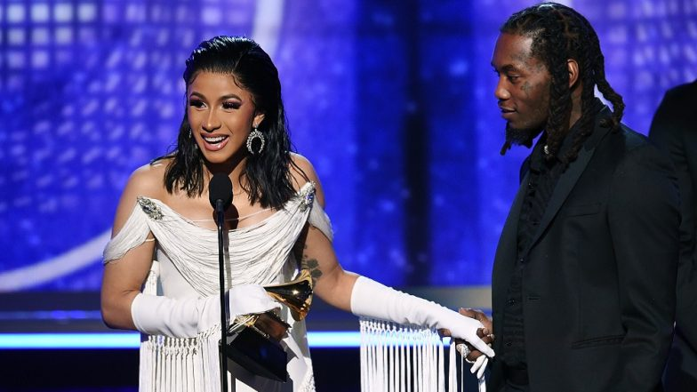 Grammy Awards 2019: Cardi B Makes History, Becomes First Solo Female Artiste to Win Best Rap Album for 'Invasion of Privacy'