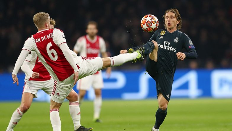 UEFA Champions League 2019 Knockout Stage: Real Madrid Beat Ajax 2–1 in the First Leg