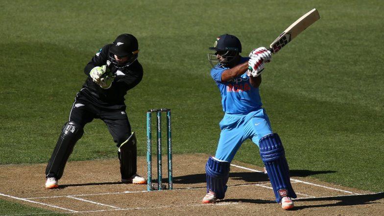 India vs New Zealand 5th ODI: Ambati Rayudu, Vijay Shankar, Hardik Pandya Help India Post 252 After Top Order Collapse