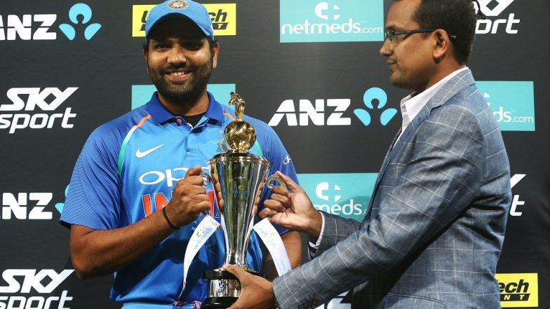 India vs New Zealand 5th ODI: Rohit Sharma Showers Praises for the Team, Says 'We Came Together Well'