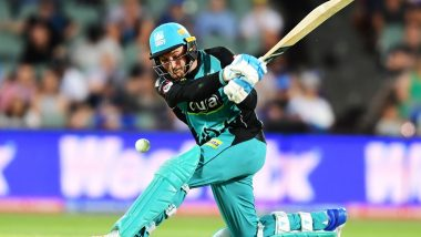 Brisbane Heat Star Brendon McCullum Announces Retirement From Big Bash League, Will Play in Other T20 Tournaments