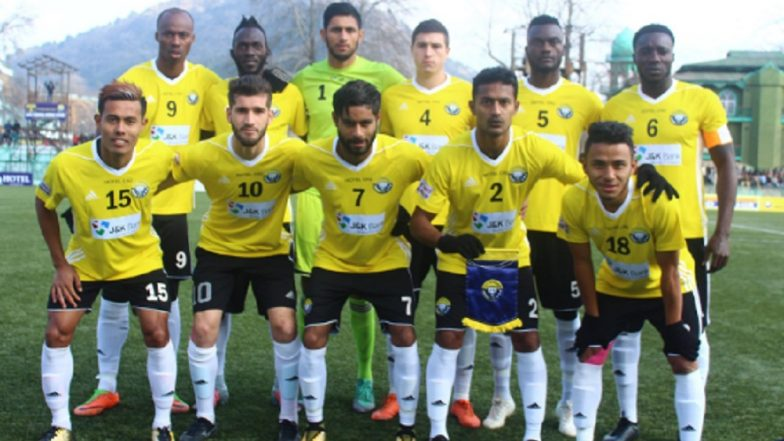 I-League 2018-19: Real Kashmir Beat Gokulam Kerala 1-0 Under Snow and Rain, Jump to Top Spot in the Table