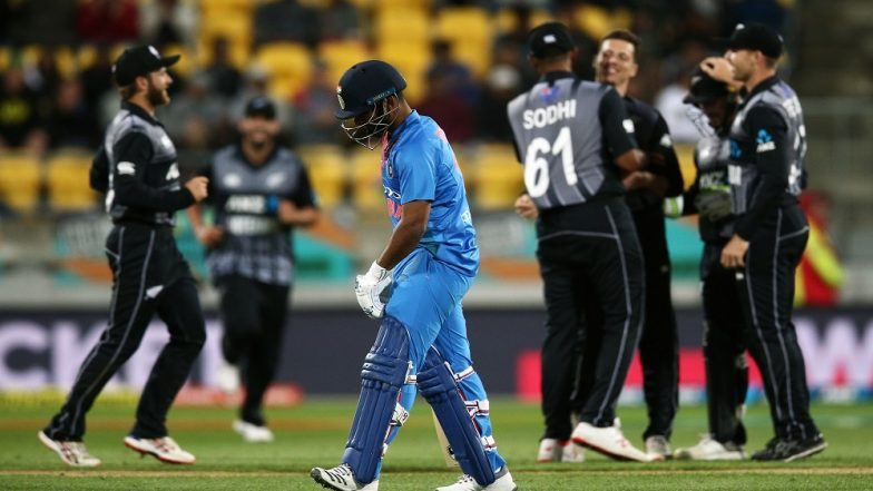 India vs New Zealand 1st T20I 2019: Black Caps Hammer Men in Blue by 80 Runs, Leads 3-Match Series 1–0