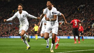 UEFA Champions League Round of 16: PSG Stun Manchester United 2–0 in the First Leg of Knockout Stage