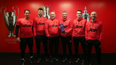 Ole Gunnar Solskjaer Wins Manchester United Manager of the Month; Equals Sir Alex Ferguson's Record