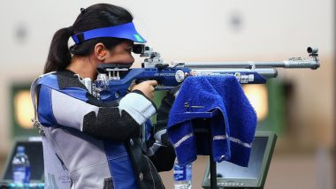 ISSF World Cup 2019: Apurvi Chandela Wins Gold Medal in 10m Air Rifle Event, Makes a World Record