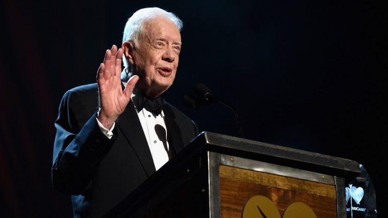 Grammy 2019 Cd: Grammy Awards 2019: Jimmy Carter Wins Award For Spoken