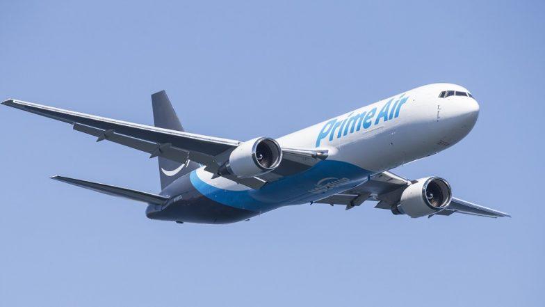 Amazon Prime Air Cargo Crashes Near Huston, Three Dead in Texas Plane Tragedy