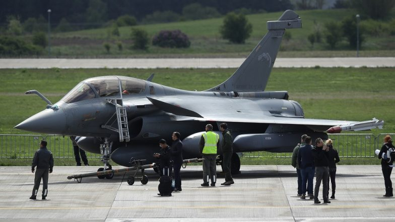 3 Rafale Fighter Jets Land in Bengaluru for Aero India Show 2019, Amid Political Furore
