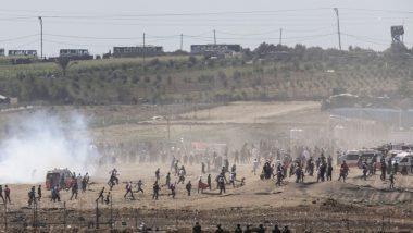 Exchange of Gunfire on Gaza Border Kills Palestinian, Wounds 3 Israel Soldiers