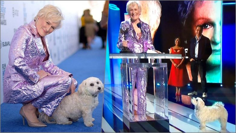 Glenn Close's Dog 'Sir Pippin of Beanfield' Steals the Show During the 34th Independent Spirit Awards Ceremony (Watch Videos)