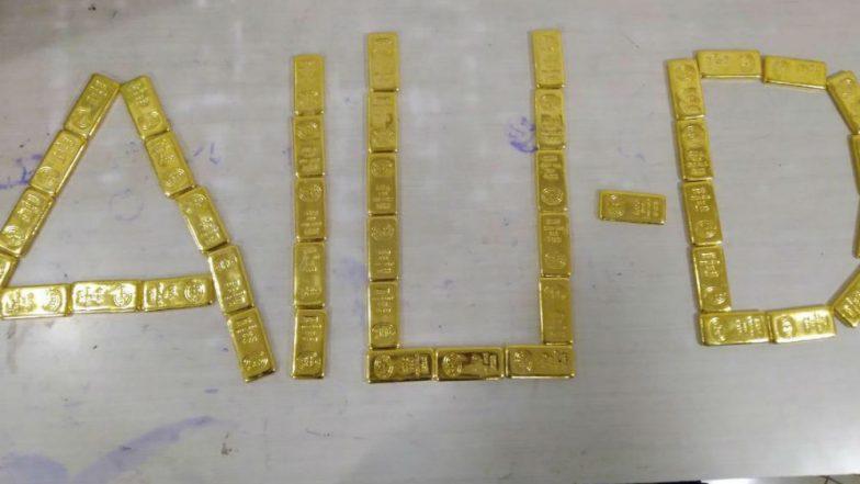 Mumbai: 44 Gold Bars Worth Rs 7 Crore Seized at Chhatrapati Shivaji International Airport, See Pics