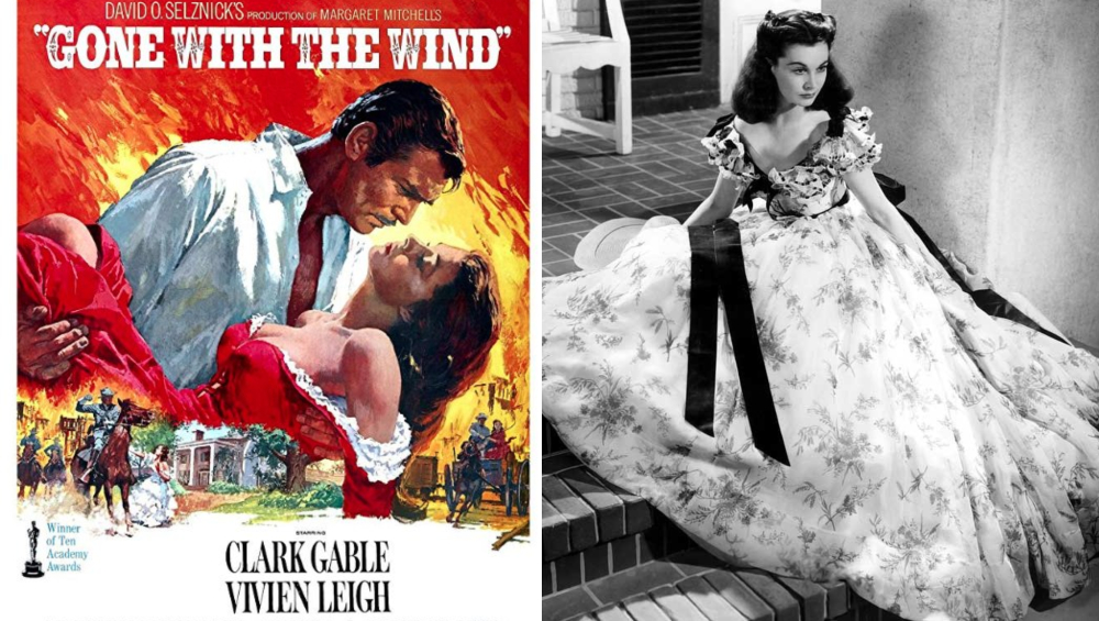 Gone With The Wind had a run time of 238 minutes. (Photo Credits: Twitter)