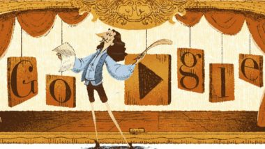Molière Remembered as 'Greatest Artist in History of French Theater', Google Doodle Pays Tribute to French Actor and Playwright