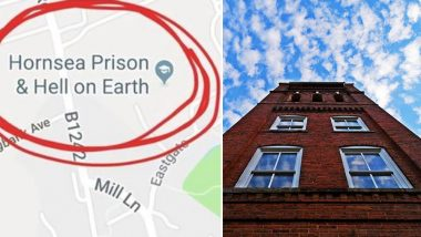Map Of England Google Earth.Google Maps Shows Northern England School S Name As Prison Hell