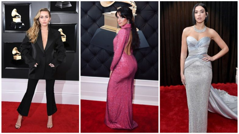 Grammy Awards 2019 Best Dressed: Miley Cyrus, Dua Lipa, Camila Cabello Take The Red Carpet By Storm!