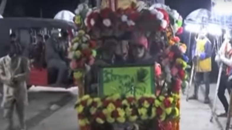 Bihar Groom Arrives at His Wedding on an E-Rickshaw Surprising Guests, Gives Saplings as a Return Gift; Watch Video