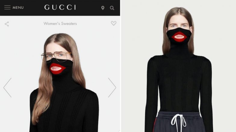 Gucci 'Blackface' Balaclava Sweater Withdrawn After Internet Backlash, Company Issues Apology
