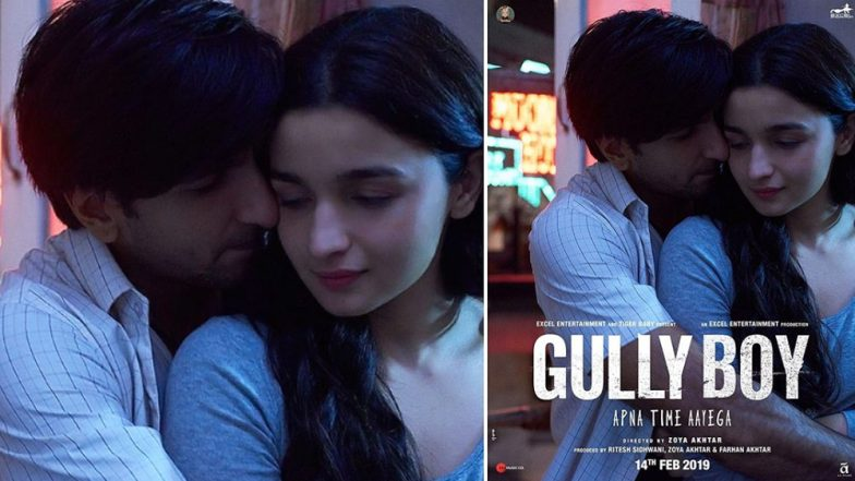 Gully Boy Box Office Collection: Ranveer Singh and Alia Bhatt Starrer Takes a Bigger Opening Than Padmavaat and Simmba in Mumbai