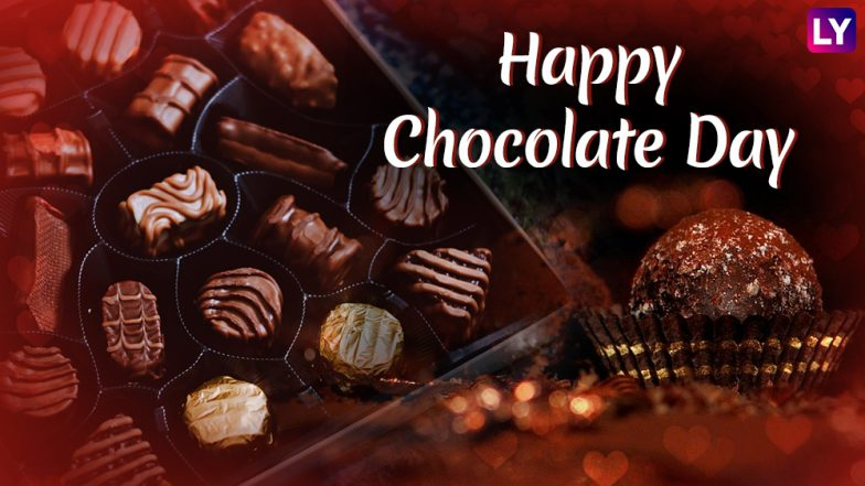 Happy Chocolate Day 2019 Wishes: WhatsApp Stickers, Instagram Photos, GIF Image Messages, SMS to Send Chocolate Day Greetings This Valentine Week