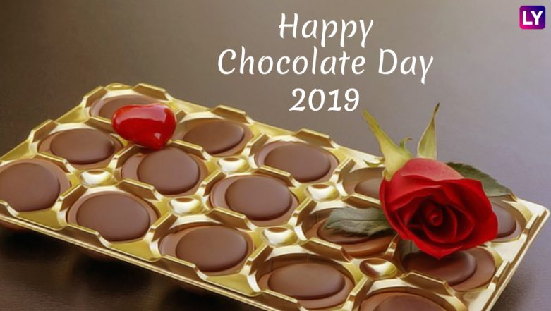 Chocolate Day 2019 Images & HD Wallpapers for Free Download Online: Wish Happy Chocolate Day With Sweet GIF Greetings & WhatsApp Sticker Messages During Valentine Week