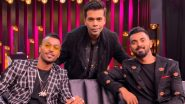 'My Family Got Abused': Hardik Pandya Opens Up on the Koffee With Karan Controversy