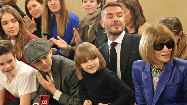 Victoria And David Beckham's Daughter Harper Is Anna Wintour's Mini-Me Version And This Picture Proves The Same!