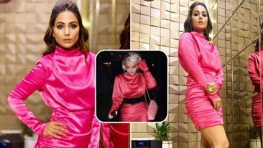 After Divyanka Tripathi, Diet Sabya Calls Out Hina Khan For Plagiarising a Pink Dress From House of CB! See Pics