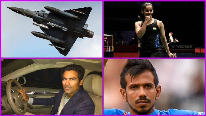 Mohammad Kaif, Suresh Raina and Other Sports Stars Applaud IAF After it Bombs JeM Camps Across LOC in Pakistan