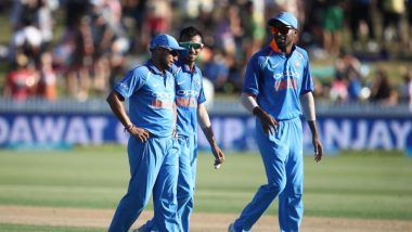Live Cricket Streaming of India vs New Zealand ODI Series 2019 on Hotstar: Check Live Cricket Score, Watch Free Telecast Details of IND vs NZ 5th ODI Match on TV & Online